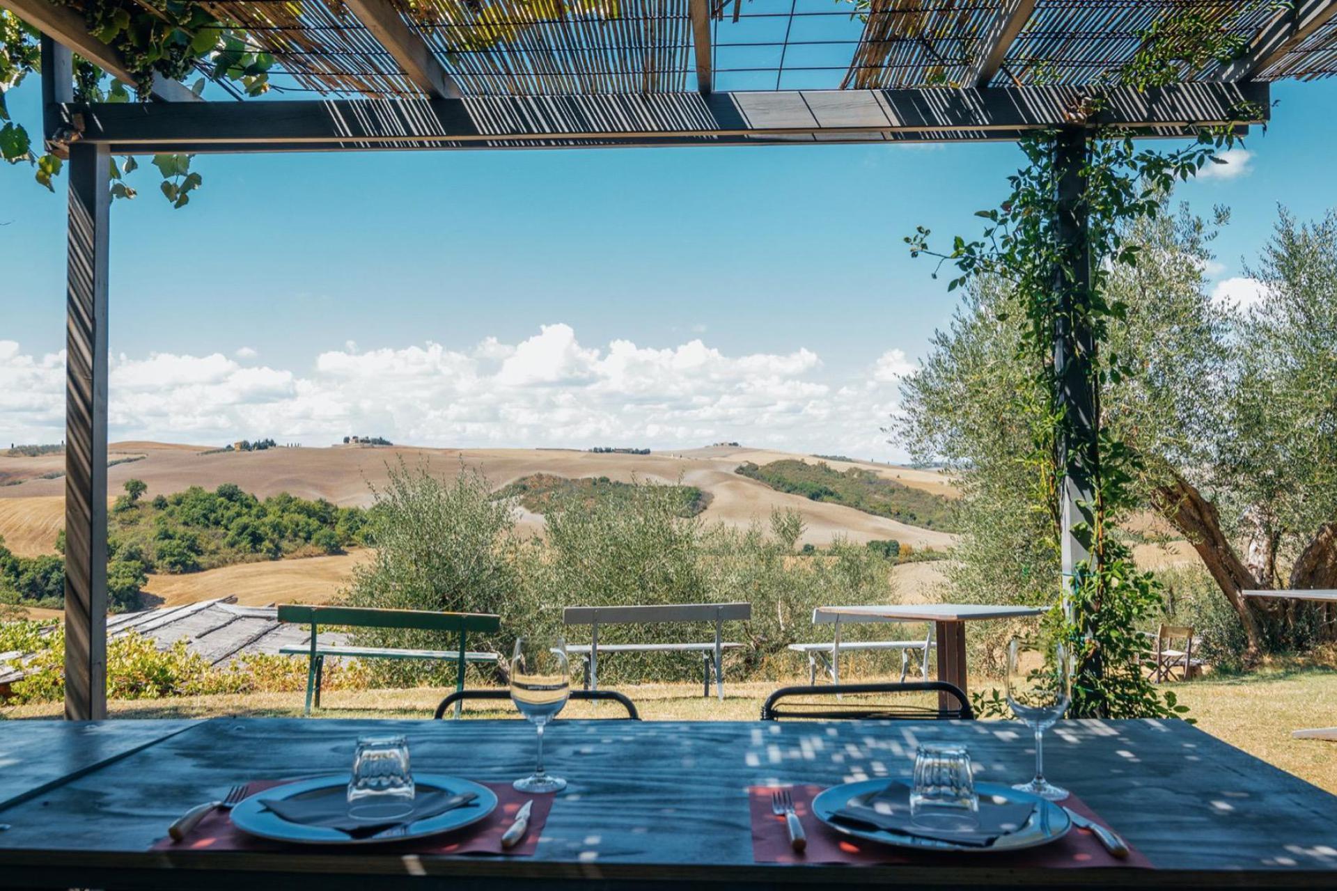 Agriturismo Toscane Agriturismo met restaurant in de buurt van Pienza