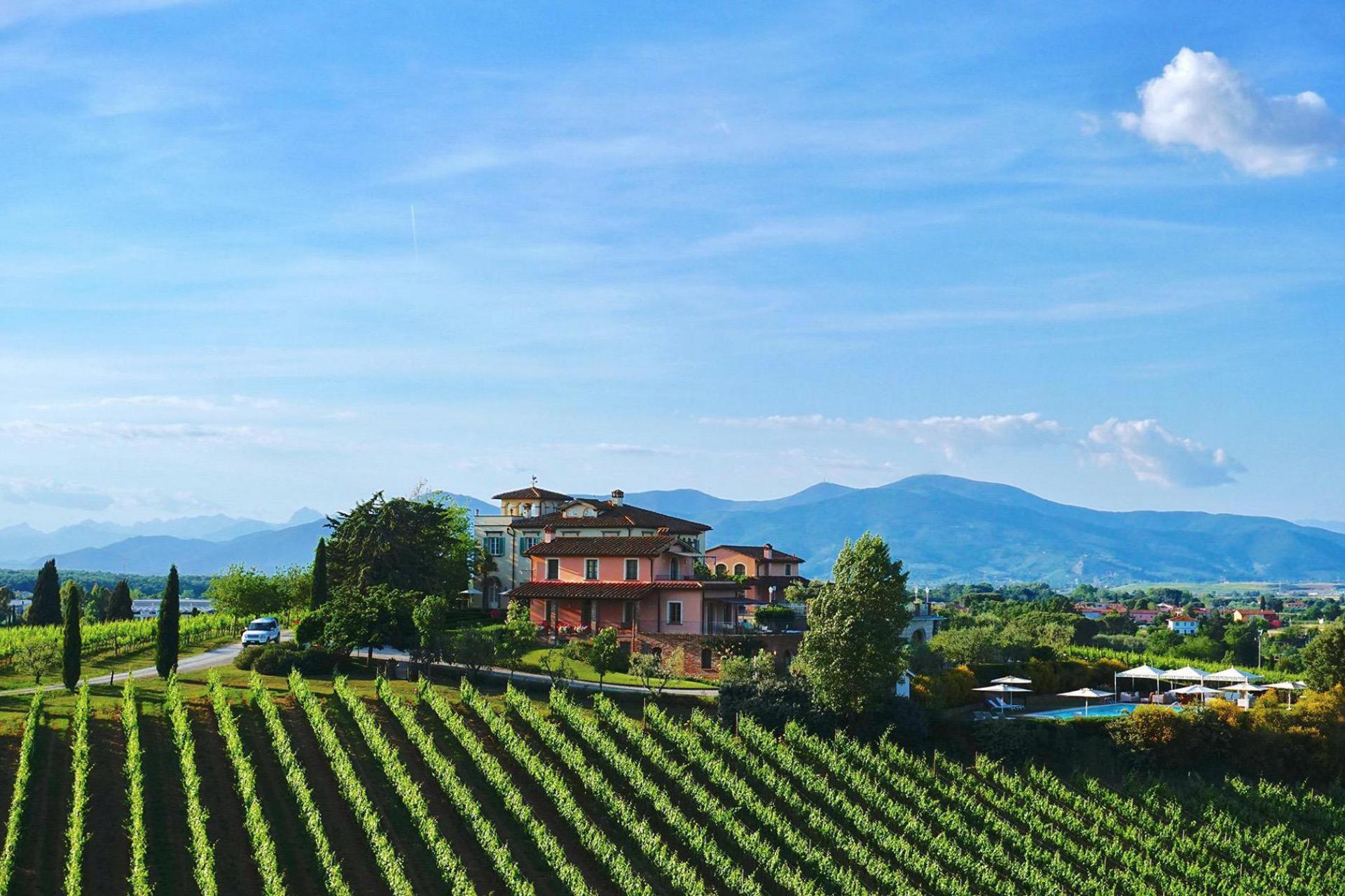 Agriturismo Toscane Luxe agiturismo en wijnboerderij bij Pisa