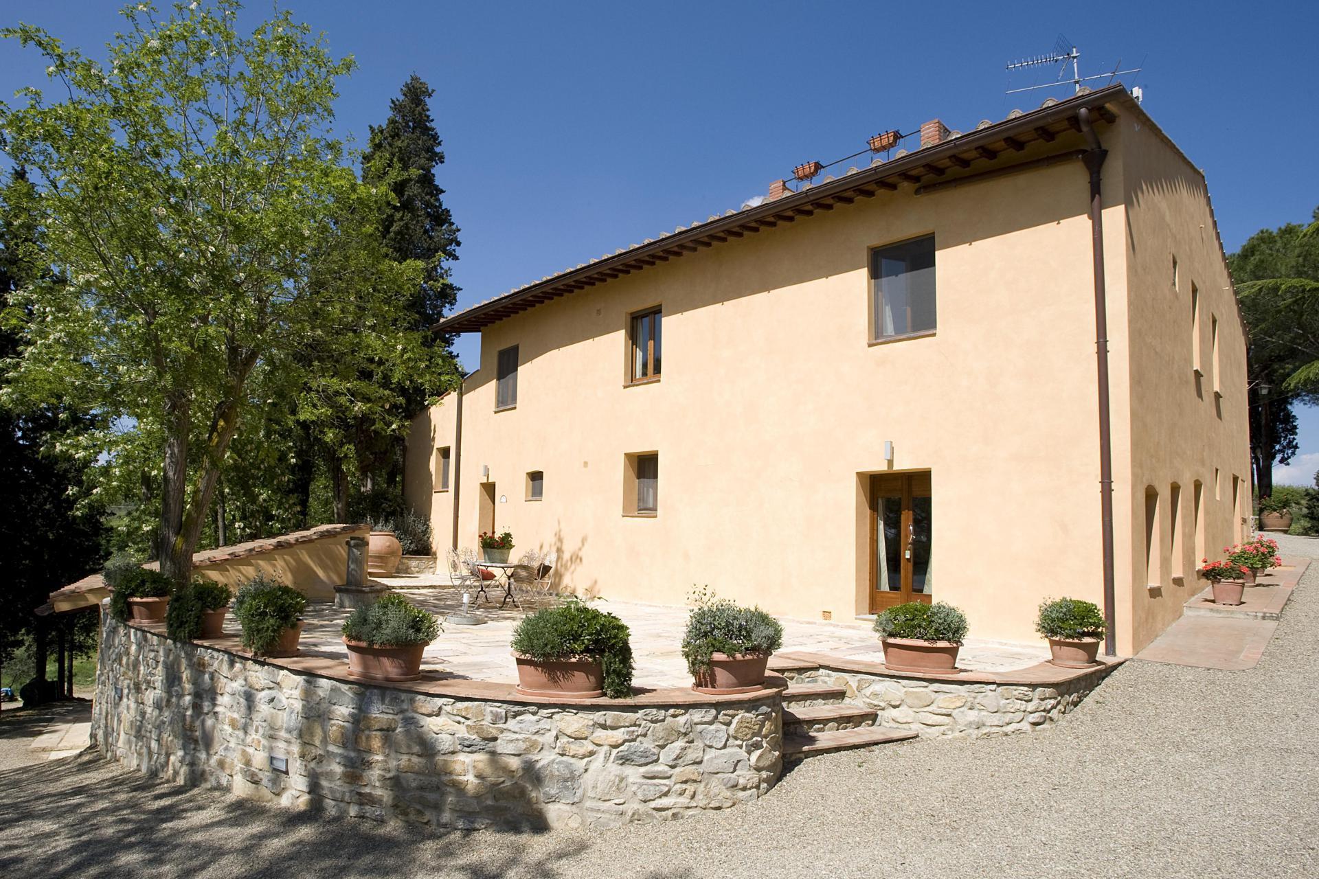 Agriturismo Toscane Luxe agriturismo bij San Gimignano in Toscane