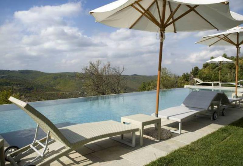 Agriturismo Toscane Luxe agriturismo met appartementen in Chiantigebied