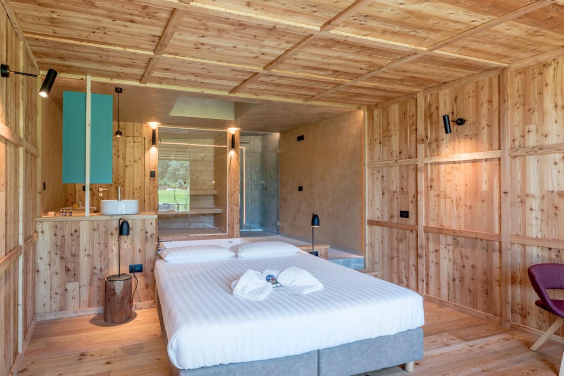 Agriturismo Dolomieten Organische appelboerderij in Trentino's merenvallei