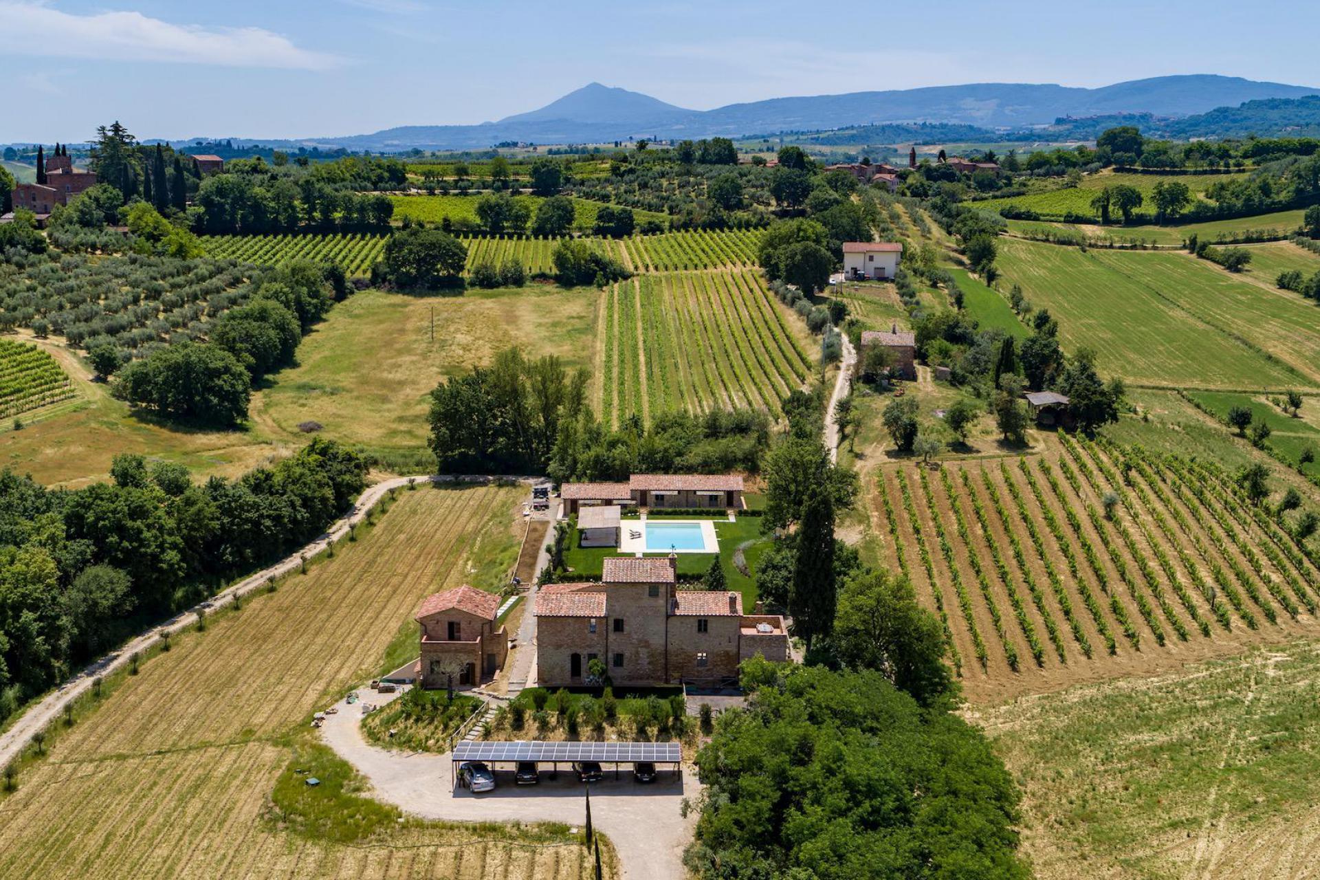 Agriturismo Toscane Panoramische gelegen agriturismo in Toscane
