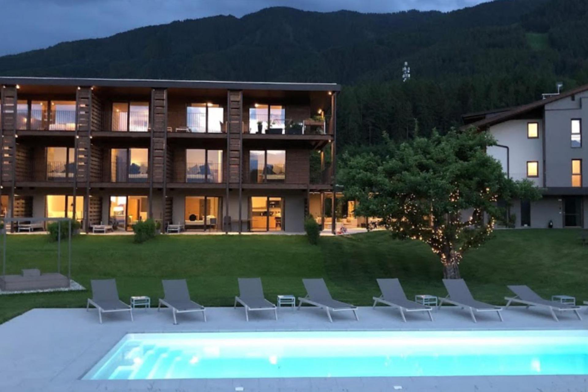 Agriturismo Dolomieten Residence in de Dolomieten op loopafstand van skilift en dorp