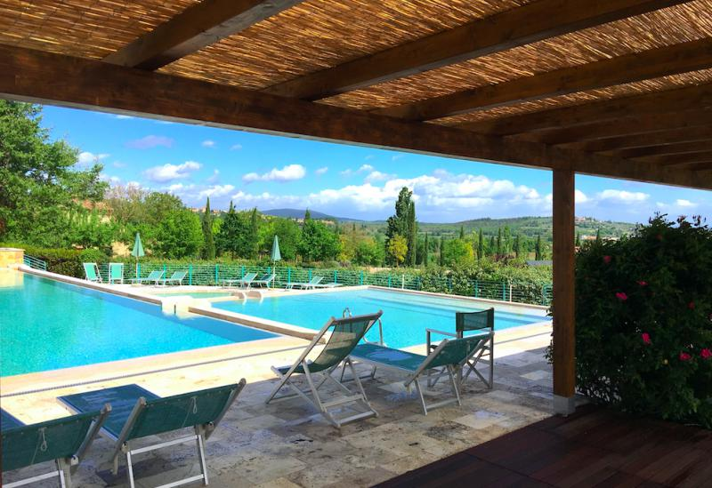 Kindvriendelijk country resort in Toscane met restaurant