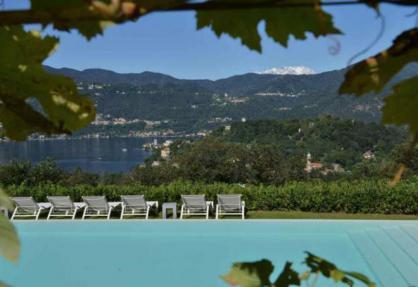 Agriturismo Lago Maggiore met bijzonder mooi uitzicht