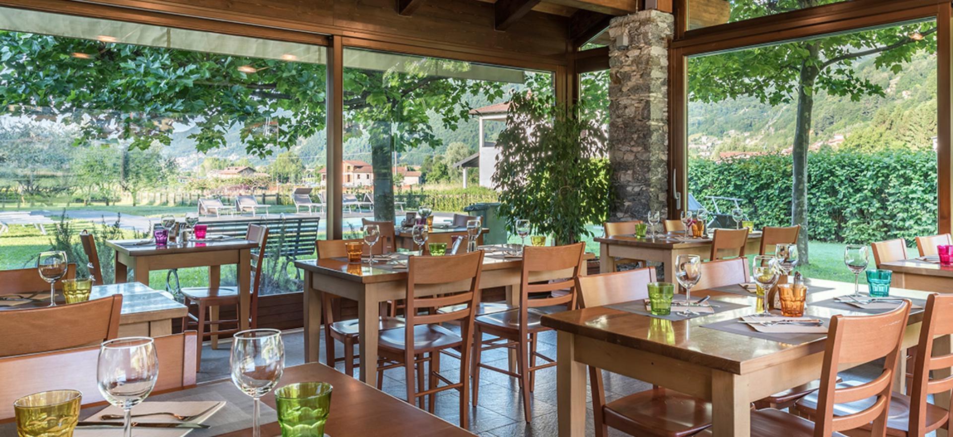 Agriturismo Comomeer en Gardameer Agriturismo Comomeer, met restaurant en zwembad