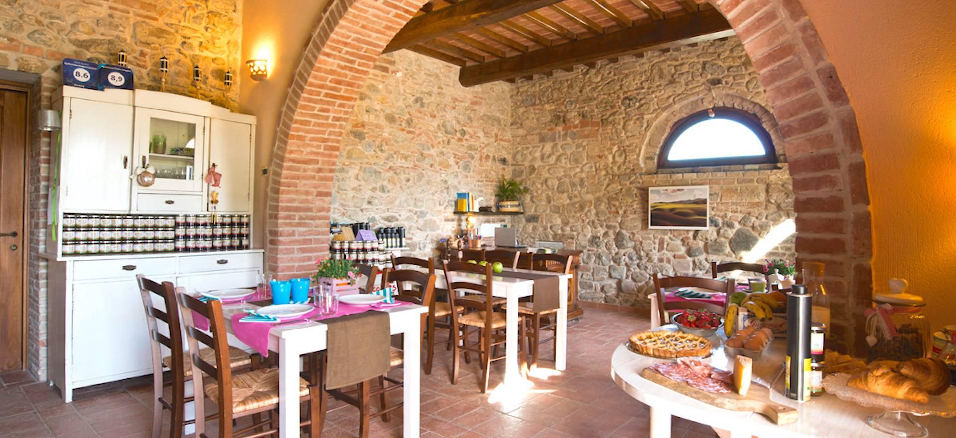 Agriturismo Toscane Agriturismo in Toscane met uitzicht op Volterra