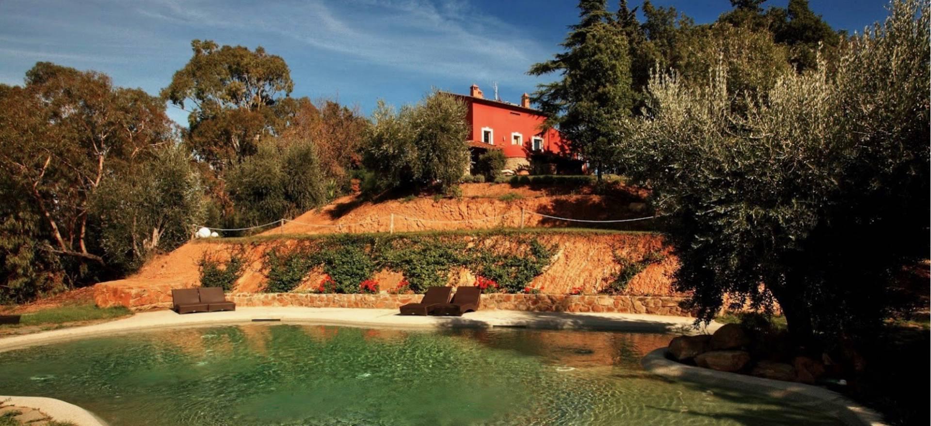 Agriturismo Toscane Prachtig country house in toscane met zeezicht