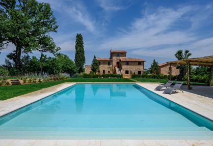 Panoramische gelegen agriturismo in Toscane